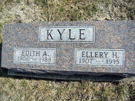 GAUNT KYLE, EDITH A - Jefferson County, Iowa   EDITH A GAUNT KYLE