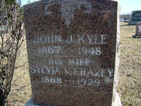 KYLE, SYLVIA VANE - Jefferson County, Iowa | SYLVIA VANE KYLE