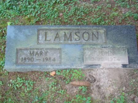 LAMSON, JOHN BOWMAN - Jefferson County, Iowa | JOHN BOWMAN LAMSON