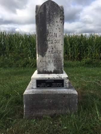 ANDERSON LARSON, ANNA SOPHIA - Jefferson County, Iowa | ANNA SOPHIA ANDERSON LARSON