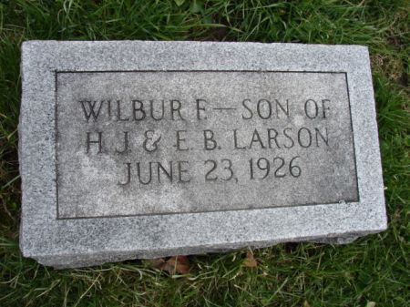 LARSON, WILBUR F - Jefferson County, Iowa | WILBUR F LARSON