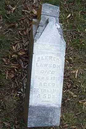 LAWSON, ALFRED - Jefferson County, Iowa | ALFRED LAWSON