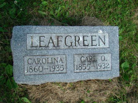 LEAFGREEN, CARL OSCAR - Jefferson County, Iowa | CARL OSCAR LEAFGREEN