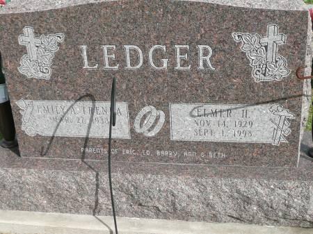 LEDGER, ELMER H - Jefferson County, Iowa | ELMER H LEDGER