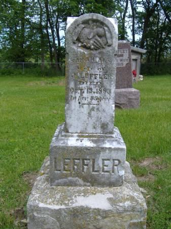 LEFFLER, SARAH ANN - Jefferson County, Iowa   SARAH ANN LEFFLER