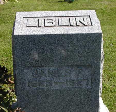 LIBLIN, JAMES  F. - Jefferson County, Iowa | JAMES  F. LIBLIN
