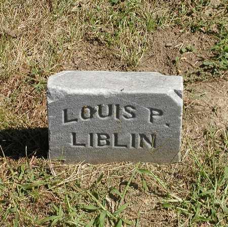 LIBLIN, LOUIS P. - Jefferson County, Iowa | LOUIS P. LIBLIN