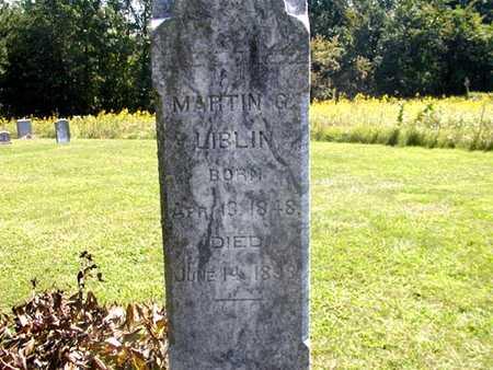 LIBLIN, MARTIN G. - Jefferson County, Iowa | MARTIN G. LIBLIN