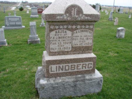 LINDBERG, P AUGUST - Jefferson County, Iowa   P AUGUST LINDBERG
