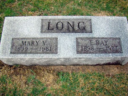 AUGUSTINE LONG, MARY V - Jefferson County, Iowa | MARY V AUGUSTINE LONG