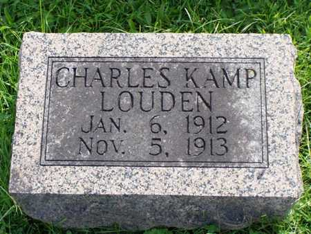 LOUDEN, CHARLES - Jefferson County, Iowa | CHARLES LOUDEN