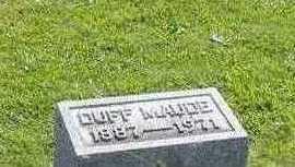ALLEN, DUFF MAUDE JAMESON - Jefferson County, Iowa   DUFF MAUDE JAMESON ALLEN