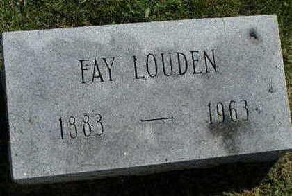 LOUDEN, FAY - Jefferson County, Iowa | FAY LOUDEN