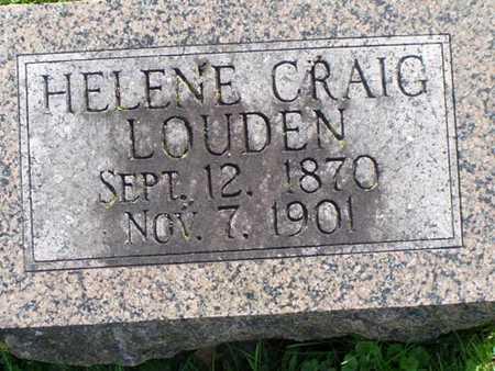 LOUDEN, HELENE - Jefferson County, Iowa | HELENE LOUDEN