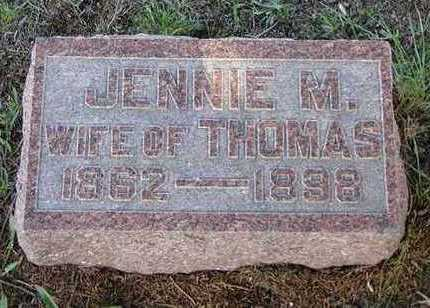 MC WHIRTER LOUDEN, JENNIE - Jefferson County, Iowa | JENNIE MC WHIRTER LOUDEN