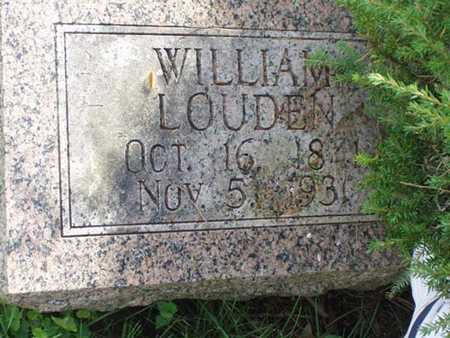 LOUDEN, WILLIAM - Jefferson County, Iowa | WILLIAM LOUDEN