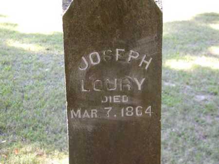 LOURY, JOSEPH - Jefferson County, Iowa | JOSEPH LOURY