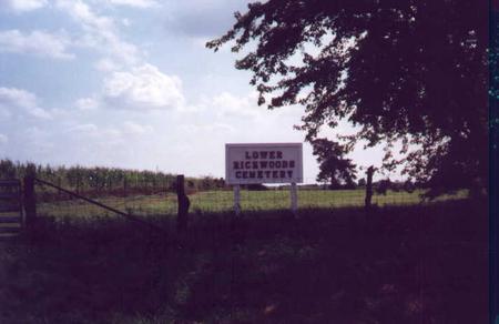 LOWER RICHWOODS, CEMETERY - Jefferson County, Iowa | CEMETERY LOWER RICHWOODS