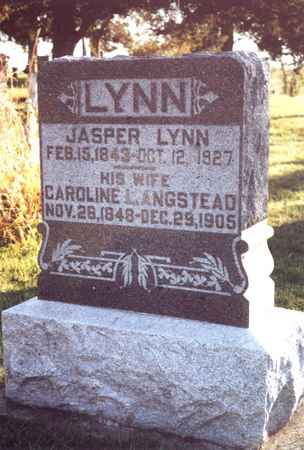 LYNN, JASPER - Jefferson County, Iowa | JASPER LYNN