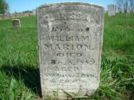 ELLER MARION, CLARISSA - Jefferson County, Iowa | CLARISSA ELLER MARION