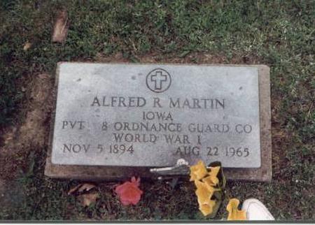 MARTIN, ALFRED R. - Jefferson County, Iowa | ALFRED R. MARTIN