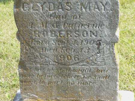ROBERTSON, GLYDAS MAY - Jefferson County, Iowa | GLYDAS MAY ROBERTSON