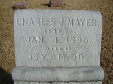 MAYER, CHARLES J - Jefferson County, Iowa   CHARLES J MAYER