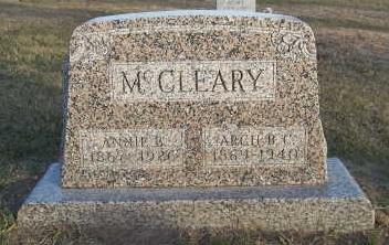 MCCLEARY, ANNIE B. - Jefferson County, Iowa | ANNIE B. MCCLEARY