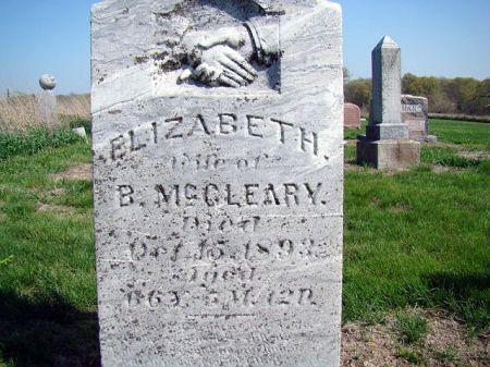 MCCART MCCLEARY, ELIZABETH - Jefferson County, Iowa | ELIZABETH MCCART MCCLEARY