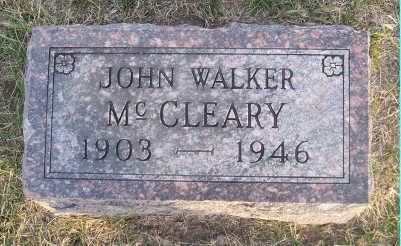 MCCLEARY, JOHN WALKER - Jefferson County, Iowa | JOHN WALKER MCCLEARY