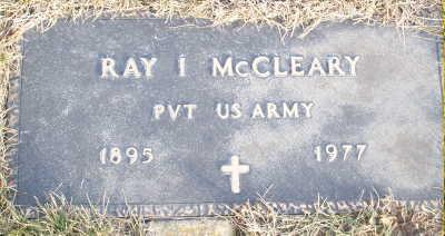 MCCLEARY, RAY I. - Jefferson County, Iowa | RAY I. MCCLEARY