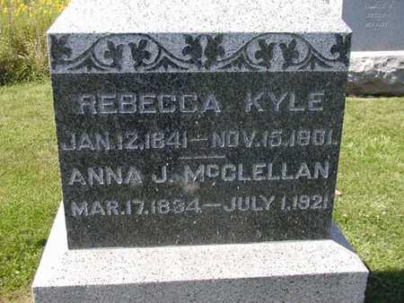 MCCLELLAN, ANNA J. - Jefferson County, Iowa | ANNA J. MCCLELLAN