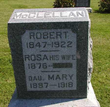 MCCLELLAN, ROSA - Jefferson County, Iowa | ROSA MCCLELLAN