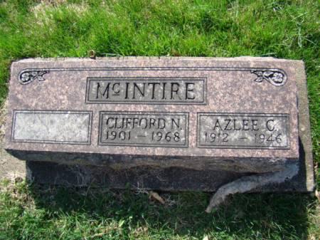MCINTIRE, CLIFFORD NATHANIEL - Jefferson County, Iowa   CLIFFORD NATHANIEL MCINTIRE