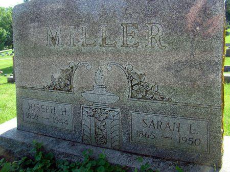 MILLER, SARAH LUELLA - Jefferson County, Iowa | SARAH LUELLA MILLER