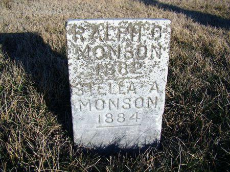 MONSON, RALPH O - Jefferson County, Iowa | RALPH O MONSON