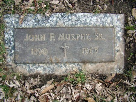 MURPHY, JOHN FRANCIS SR - Jefferson County, Iowa | JOHN FRANCIS SR MURPHY