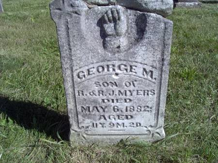 MYERS, GEORGE M - Jefferson County, Iowa | GEORGE M MYERS