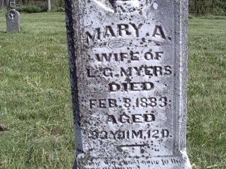 LONGERBONE MYERS, MARY ANN - Jefferson County, Iowa | MARY ANN LONGERBONE MYERS