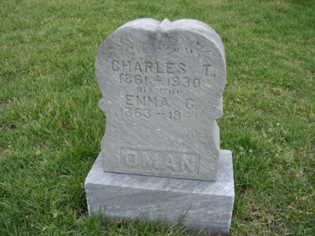 OMAN, CHARLES THEODORE - Jefferson County, Iowa | CHARLES THEODORE OMAN