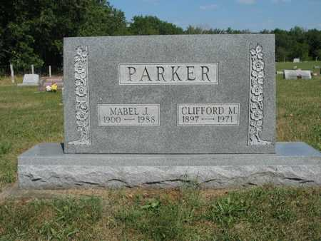 PARKER, CLIFFORD M - Jefferson County, Iowa   CLIFFORD M PARKER