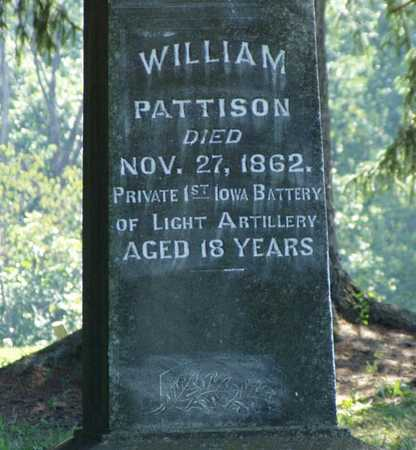 PATTISON, WILLIAM - Jefferson County, Iowa | WILLIAM PATTISON