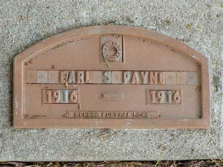 PAYNE, EARL S. - Jefferson County, Iowa   EARL S. PAYNE