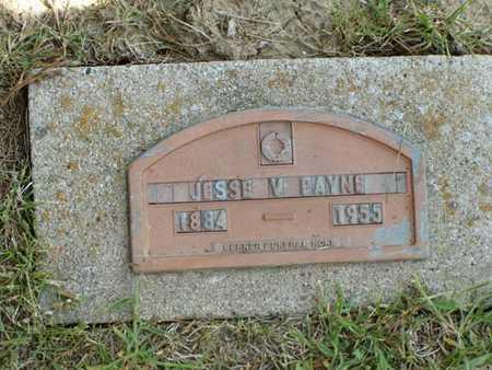 PAYNE, JESSE V. - Jefferson County, Iowa | JESSE V. PAYNE