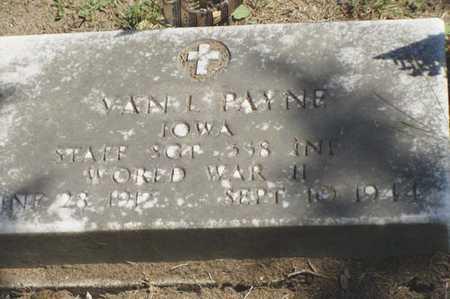 PAYNE, VAN E. - Jefferson County, Iowa | VAN E. PAYNE