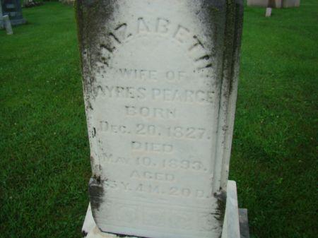 PEARCE, ELIZABETH - Jefferson County, Iowa | ELIZABETH PEARCE