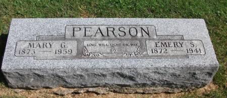 PEARSON, MARY GLADYS - Jefferson County, Iowa   MARY GLADYS PEARSON