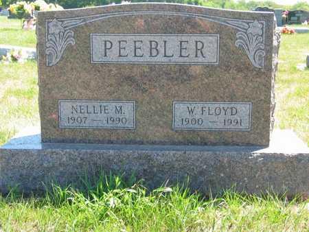 STULL PEEBLER, NELLIE M - Jefferson County, Iowa | NELLIE M STULL PEEBLER