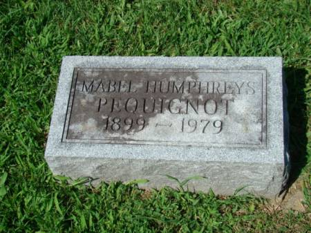 HUMPHREYS PEQUIGNOT, MABEL - Jefferson County, Iowa | MABEL HUMPHREYS PEQUIGNOT