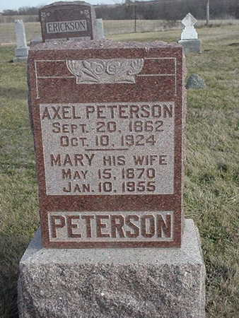PETERSON, MARY - Jefferson County, Iowa | MARY PETERSON